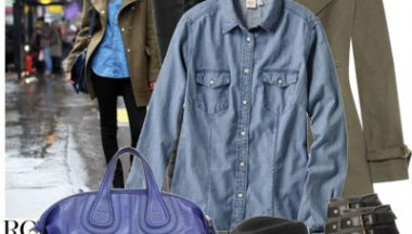 Denim shirt – Una camicia, mille look!