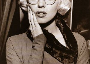 marilyn cat eye glasses