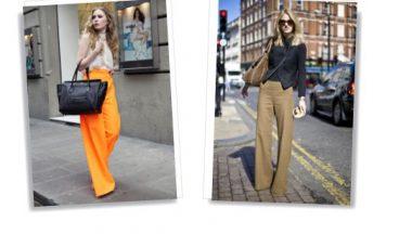 Wide Leg Pants/Jeans: il ritorno!