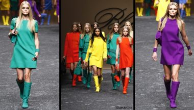 Trend di stagioe color block Blumarine