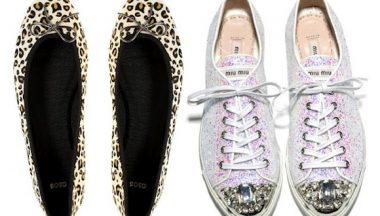 Shoes trend: animalier o twinkle?