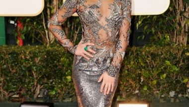 Golden Globes Lea Michelle