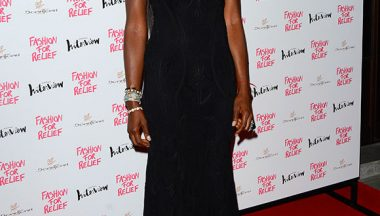 Naomi Campbell in Roberto Cavalli@Fashion for Relief charity dinner on August   in London England