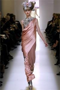 peplo monospalla, chanel, haute couture