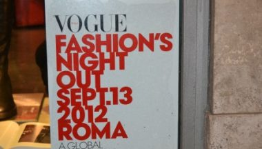 roma vogue fashion night out