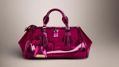 burberry prorsum the blaze bag color ciclamino