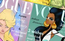 Principesse Disney su Vogue