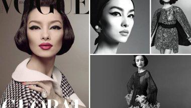 Fei Fei Sun – la prima modella cinese su Vogue Italia