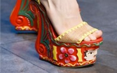 London Fashion Week scarpe
