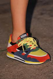 sneaker multicolor moschino cheap and chic