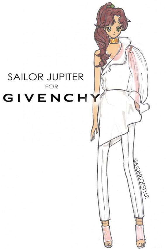 sailor juptier for givenchy