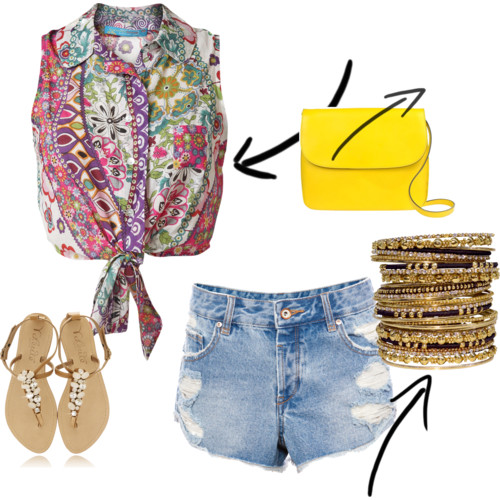 outfit spiaggia/happy hours