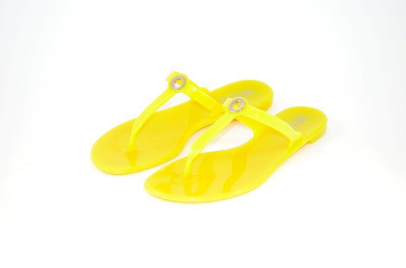 Vialactea_modello infradito pvc giallo con fiocco mod diana_euro