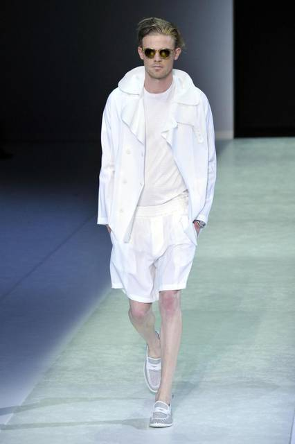Milano Moda Uomo - Sfilata Emporio Armani