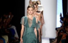new york fashion week settembre carolina herrera la sfilata primavera estate