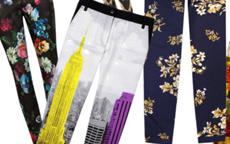 print pants
