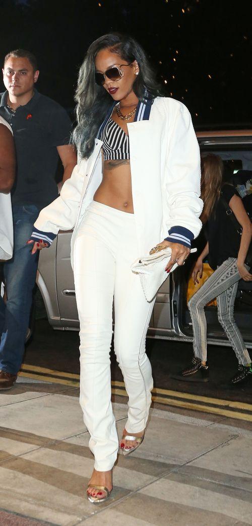 Rihanna and Cara Delvigne clubbing until 4am at Cirque Du Soir in London