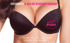Yamamay Natural Push reggiseno