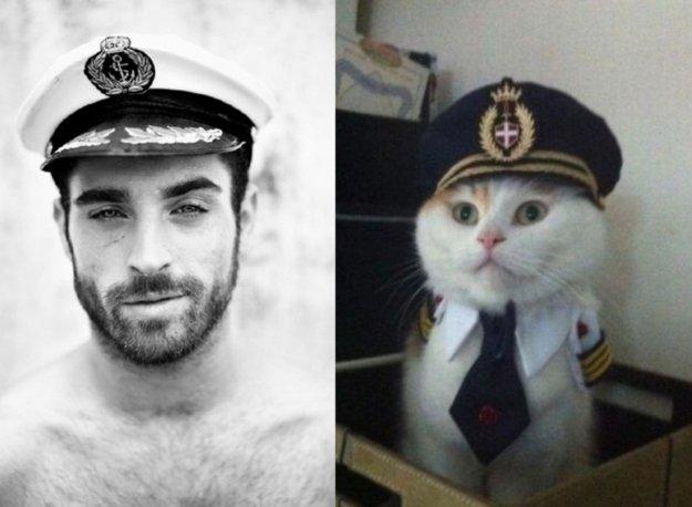 uomo e gatto 22