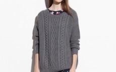 D  font b alpaca b font font b wool b font blending woven pattern pullover