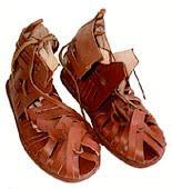 sandalo medioevo
