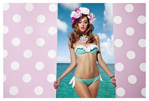 Chiara ferragni and candela novembre for je m'en fous swimwear
