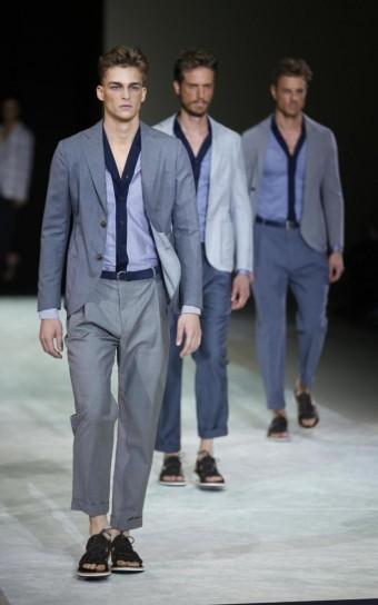 armani moda uomo milano