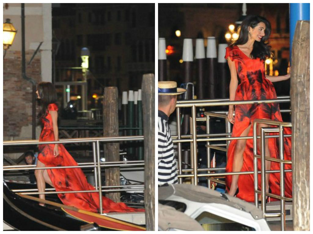 look di Amal a Venezia