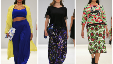 plus size alla london fashion week