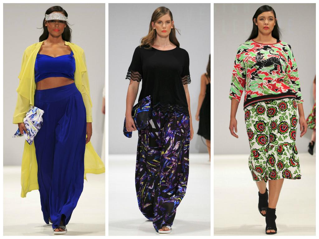 plus size alla london fashion week