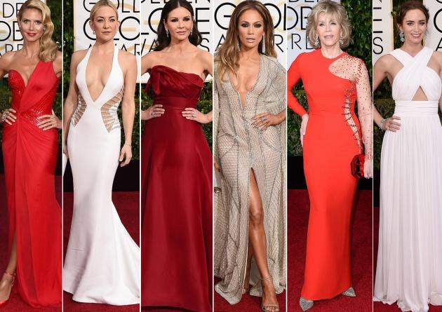 I look delle star ai Golden Globes 2015