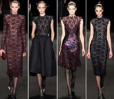 Monique Lhuillier fall winter   collection New York Fashion Week