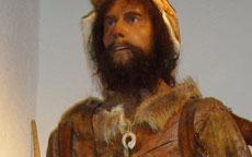 Abbigliamento dell'uomo primitivo.