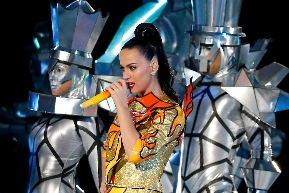 look di Katy Perry al Super Bowl