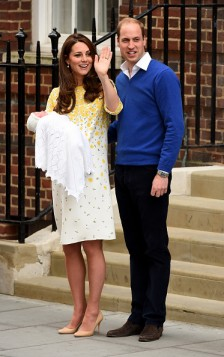 Kate Middleton e la scelta dell'abito post parto