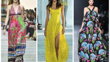 I Maxi dress sono i must have estate 2015