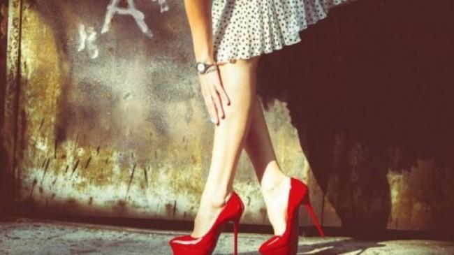 camminare sui tacchi