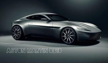 le super car del nuovo capitolo di James Bond