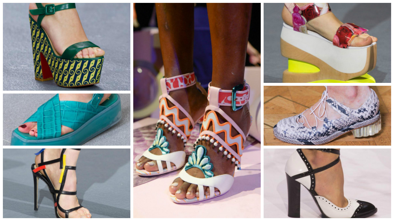 La London Fashion Week PE 2016 propone scarpe comode d23f64f7538