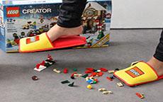 Le pantofole della Lego image ini downonly