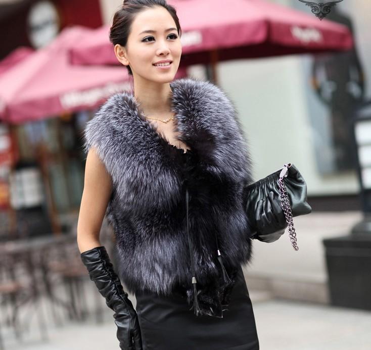 Come indossare il gilet di pelliccia  idee e suggerimenti f7de1181aed