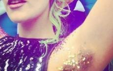 ascelle glitterate