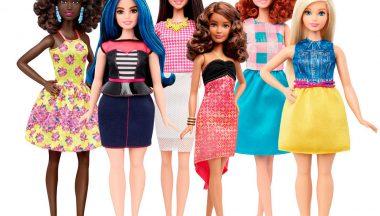 Nuove silhouette per Barbie Fashionistas: curvy, petit, tall