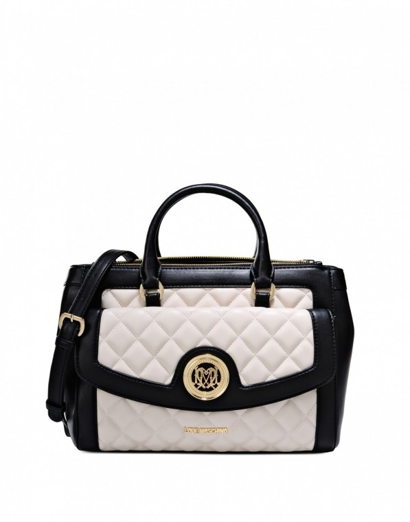 bauletto-matelasse-bicolor-love-moschino