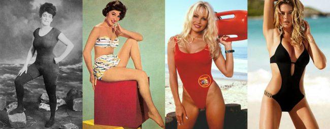 evoluzione del costume da bagno