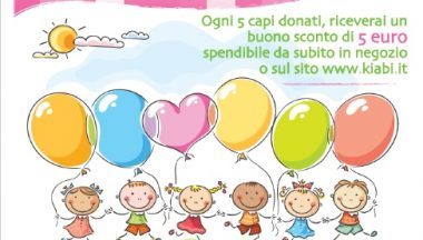 Give me 5 for charity, la campagna di Kiabi a favore di Humana People to People Italia