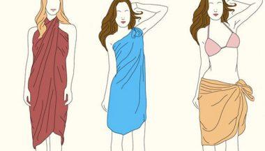 modi di indossare il pareo