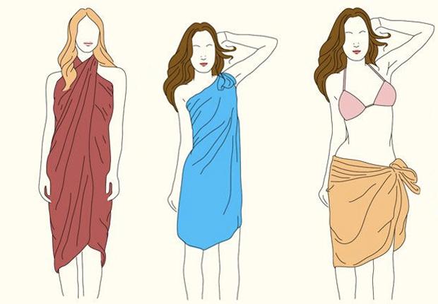 b06c357cb60f 10 modi di indossare il pareo  sicure di conoscerli tutti