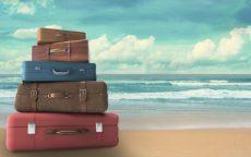valigia per le vacanze